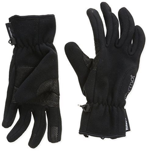 Marmot Women's Windstopper Glove, Black, X-Small