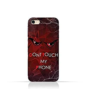Iphone 5/5s/SE TPU Silicone Case With Do not Touch My Phone 3