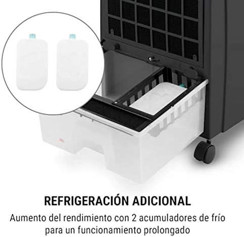 KLARSTEIN Ventilador Negro: Amazon.es: Hogar