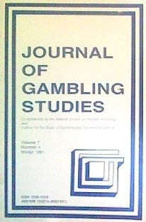 Journal of Gambling Studies (Volume 7, Number 4)