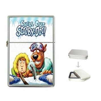 - New Product SCOOBY DOO CHILL OUT Flip Top Cigarette Lighter + free Case Box