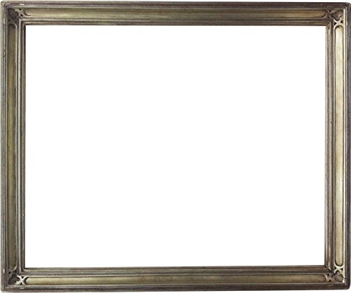 20x24 Silver Plein Air Closed Corner Gallery Picture Frame
