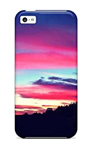 For LGRSdTP10934dGfNX Pretty Sunset Protective Case Cover Skin/iphone 5c Case Cover