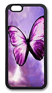 ACESR Butterfly Stylish iPhone 6 Case TPU Back Cover Case for Apple iPhone 6 4.7inch Black by mcsharks
