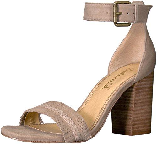 Splendid Women's Jakey Dress Sandal, Light Taupe, 7 M US LL1033