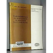 Tsarahonenana: Des riziculteurs de montagne dans l'Ankaratra (Atlas des structures agraires a Madagascar) (French Edition)