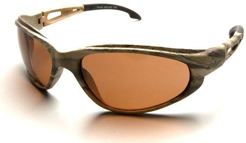 Edge Eyewear TSM215CF Dakura Safety Glasses Camo Frames Polarized Copper Lens by Edge Eyewear
