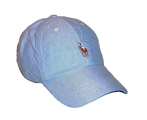 RALPH LAUREN Polo Sports Adjustable Cap/Hat~Oxford Blue One Size