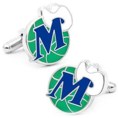NBA Vintage Dallas Mavericks Cufflinks by Cufflinks