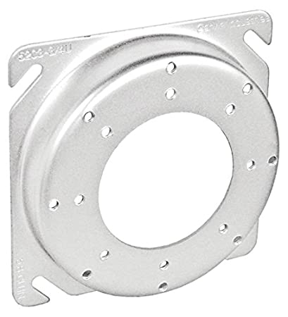 4 Inch Square To Round Universal Fixture Ring 58 Inch Raised 10 Per