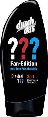 Duschdas 2 in 1 Duschgel & Shampoo Die Drei Fragezeichen, 6er Pack (6 x 250 ml)