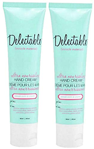 Delectable Sweet - Delectable Ultra Nourishing Hand Cream, Sweet Mint & Cream (Set of 2)