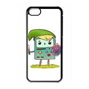 Customized Beemo Adventure Time Cell Phone Case for Iphone 5C with Time crossover