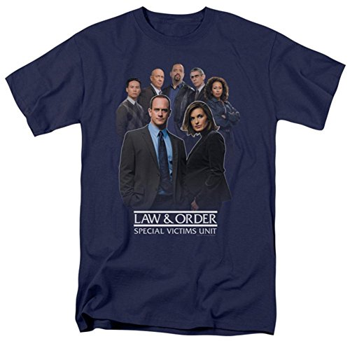 Law & Order: SVU - Team T-Shirt Size L (Law And Order Svu October Surprise Ending)