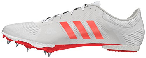 Metallic Adidas Mixte solar silver Md De Trail Blanc Adizero Adulte Chaussures ftw Red White rwOfSrq