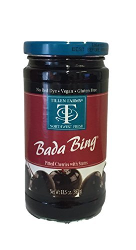 (Tillen Farms Cherries, Bada Bings, 13.5 Ounce (Pack of 4) by Tillen Farms)