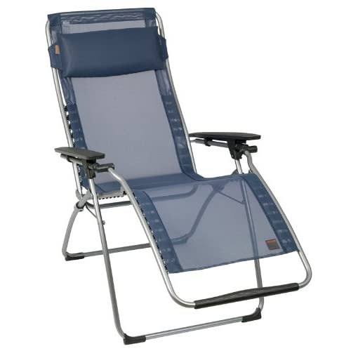 Lafuma Futura Zero Gravity Chair, Grey Steel Frame, Océan hot sale