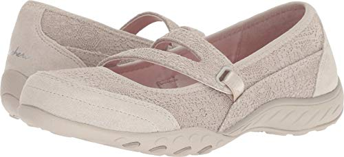Skechers Active Breathe Easy-Pretty Swagger Women's Slip On 10 B(M) US Natural by Skechers