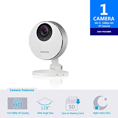 Samsung SmartCam HD Pro 1080p Full-HD Wi-Fi Camera by Samsung