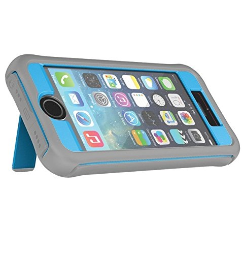 (Ballistic Every1 Series Case for iPhone 5/5S - Retail Packaging - Charcoal/Blue )