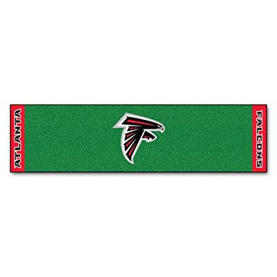 FANMATS NFL Atlanta Falcons Nylon Face Putting Green Mat