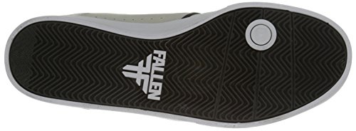 FALLEN Skateboard Shoes THE VIBE NEWSPRINT GRAY/FLAT BLACK SANDOVAL Sz 11.5