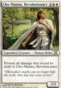 Magic: the Gathering - Cho-Manno, Revolutionary (12/383) - Tenth Edition