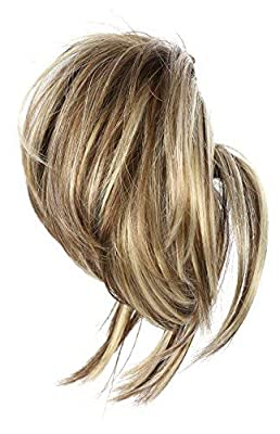Onedor 12 inch Premium Synthetic Adjustable & Customizable Updo Style Ponytail Hair Extension with Clip on Claw Attachment