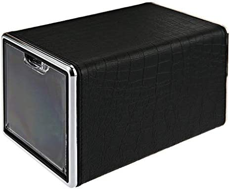 回転自動ウォッチボックスワインダー静かなディスプレイボックス透明カバージュエリーストレージオーガナイザー