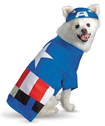 pet costume captain america - 7