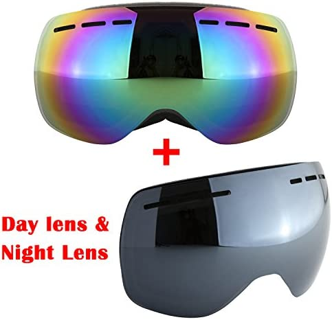 Nice Vision Adult Skiing Goggles Anti Fog Double Lens Snow Board Unisex Snow Goggles