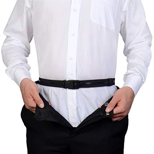 Near ShirtStay Best Shirt Stays Black Tuck It Belt Shirt Tucked Mens Shirt Stay