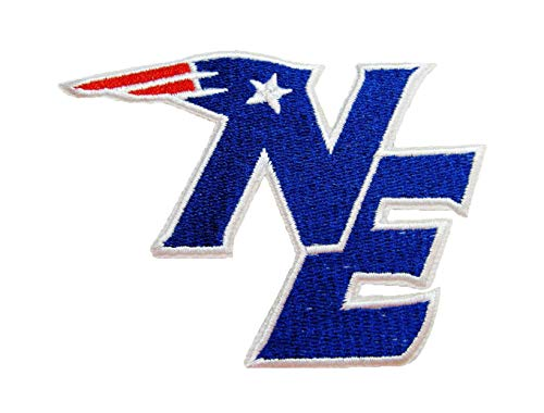 - New England Patriots NE Iron ON Patch 3 1/2 INCH