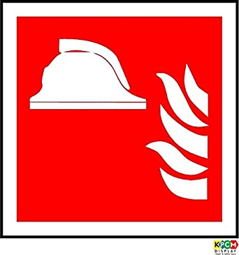 Iso Safety Label Sign International Collection Of Fire Fighting