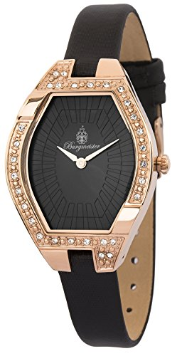 Burgmeister Women's BM801-322 Arvada Analog Display Quartz Black Watch