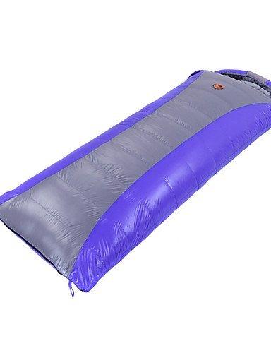 Schlafsack Rechteckiger Schlafsack Einzelbett(150 x 200 cm) -5? Enten Qualitätsdaune 1100g 210X80 Reisen warm halten CAMEL