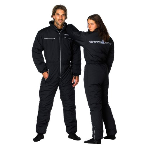 New Tusa WaterProof WarmTec Heavy Duty Unisex Drysuit Undergarment with Waterproof Nylon Shell and 300 Gram Fiberfill (Size X-Small) by Waterproof