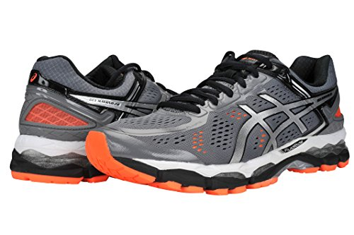 ASICS-Mens-GEL-Kayano-22-Running-Shoe-105-DM-US-StormSilverOrange