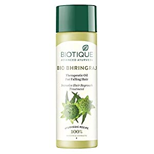 Biotique Bio Bhringraj Ayurvedic Therapeutic Hair Oil, 200ml