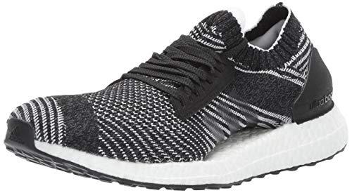 adidas Women's Ultraboost X, Black/Grey Heather/White, 7.5 M US