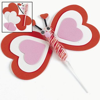 Twisty Pop Butterfly Craft Kit – Crafts for Kids & Novelty Crafts ~ Set of 12