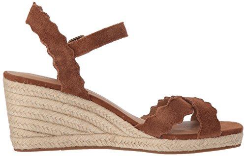 Espadrille Sandale für Lucky Zedernholz aus Marquigh Frauen US5xA
