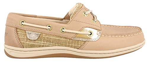 Shoes Boat METALLIC SPARKLE Sperry Women's KOIFISH LINEN fqxXT