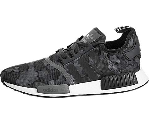 adidas Originals NMD_R1 Shoe Men's Casual 7.5 Black-Grey (Original Casual Shoe)