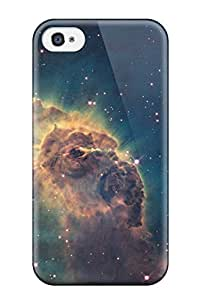 High Quality Shock Absorbing Case For Iphone 4/4s-carina Nebula Space Desktop