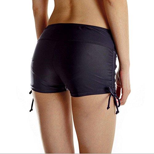 Pantaloni Colore Donne Di Fitness Le Sport Fashionyoung Anti Leggings Successo Nero Svuotato gwZH6Oq