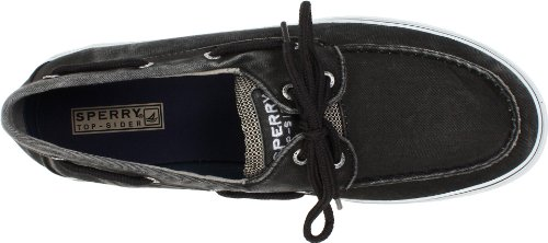Salt Sider Men's Black Eye Halyard Top Boat Sperry Washed 2 Shoes Aw58qnF