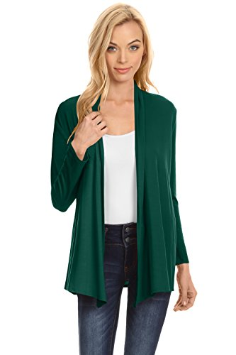 Womens-Open-Drape-Cardigan-Reg-and-Plus-Size-Cardigan-Sweater-Long-Sleeves-USA