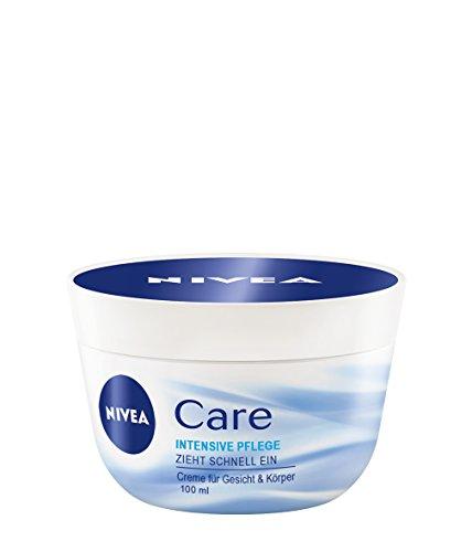 Nivea Creme Care Intensive Pflege 100 ml, 4er Pack (4 x 100 ml)