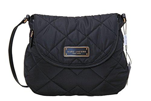 Marc by Marc Jacobs Natasha Quilted Nylon Crossbody Handbag (Black)